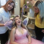Tooth Fairy getting a checkup