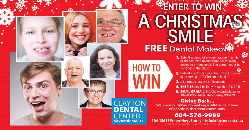 Clayton Dental Smile Giveaway
